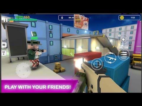 Block Gun: Gun Shooting - Online Fps War Game Android Gameplay