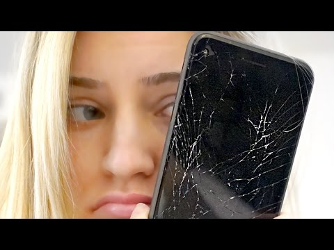 Thumbnail: Shattered my iPhone 😭 | iJustine