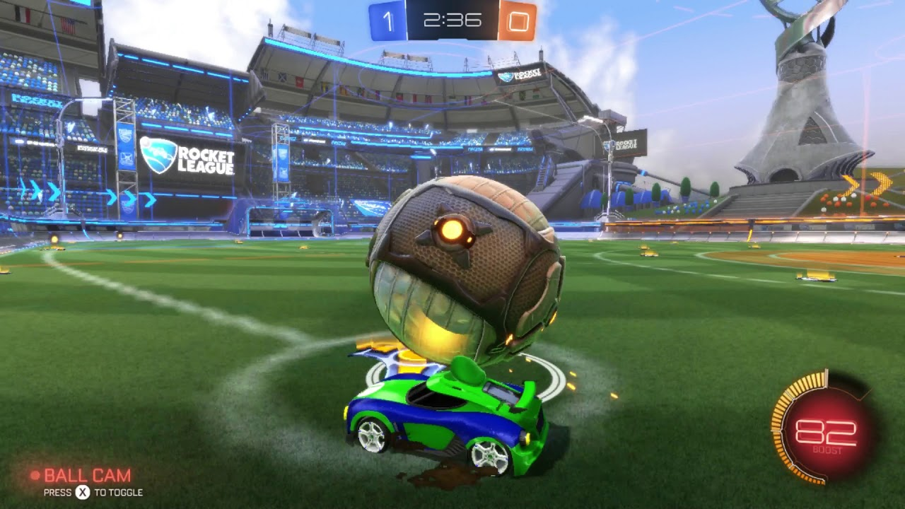 Image result for Rocket League gameplay
