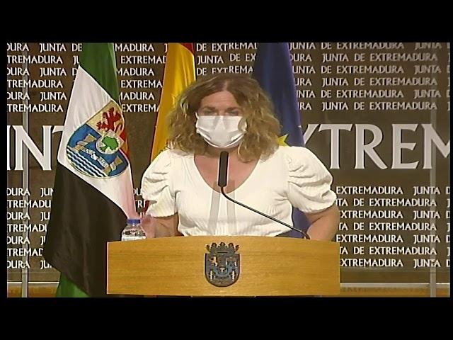 La directora general de Personal Docente, Ana Martín, sobre el inicio de las oposiciones docentes.
