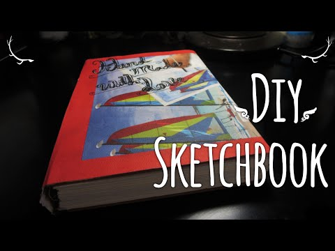 Diy Watercolor Sketchbook (How I Make Them)
