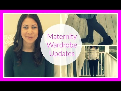 Maternity Wardrobe Updates (Winter 2016)
