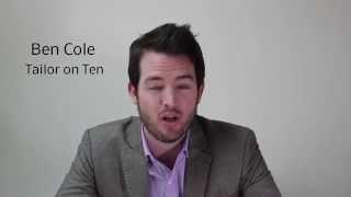 Ben Cole, Tailor On Ten