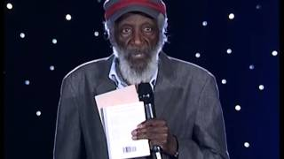 Dick Gregory speaks at the Pure Water Movement Event