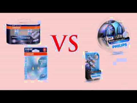 TEST FARI AUTO su mercedes CLK - OSRAM H7 NIGHTBREAKER ULTIMATE vs PHILIPS BLUE VISION ULTRA