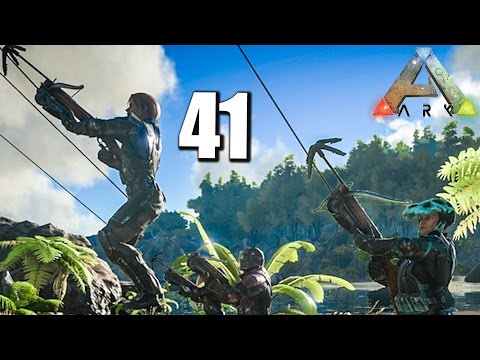 ARK ♠?♠ #041 ALLIANZ & GRAPPLING HOOK || Ark Survival Evolved German | Ark Deutsch