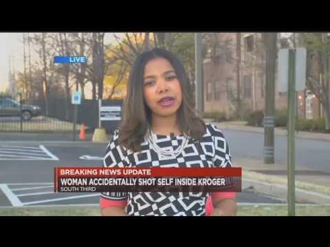 Woman accidentally shoots self inside Kroger   WMC Action News 5   Memphis Tennessee