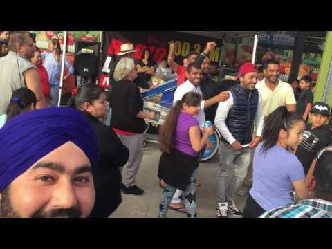 Punjabi Driver Fun Time in Fresno, California {Punjabi USA} Mexican Store Fastival 100.3 FM