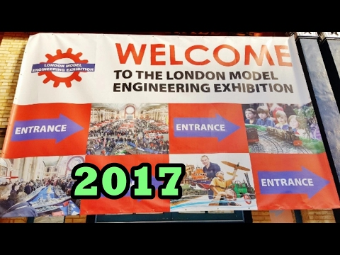 LONDON MODEL ENGINEERING EXHIBITION - 2017 ALEXANDRA PALACE