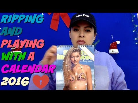 Ripping |   FLipping | Sports Illustrated CALENDAR |AsmrFlaka
