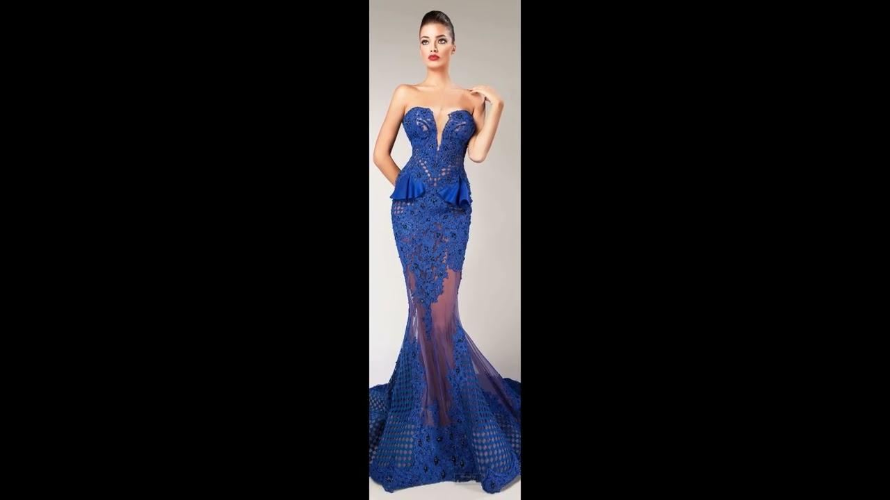 d0ef51a4ce Moda 2017 Fashion 2018 vestidos de Gala - YouTube