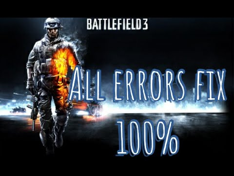 Battlefield Not Launching. Battlefield 3 Has Stopped Working. All Errors Fix For Windows 7/8/10