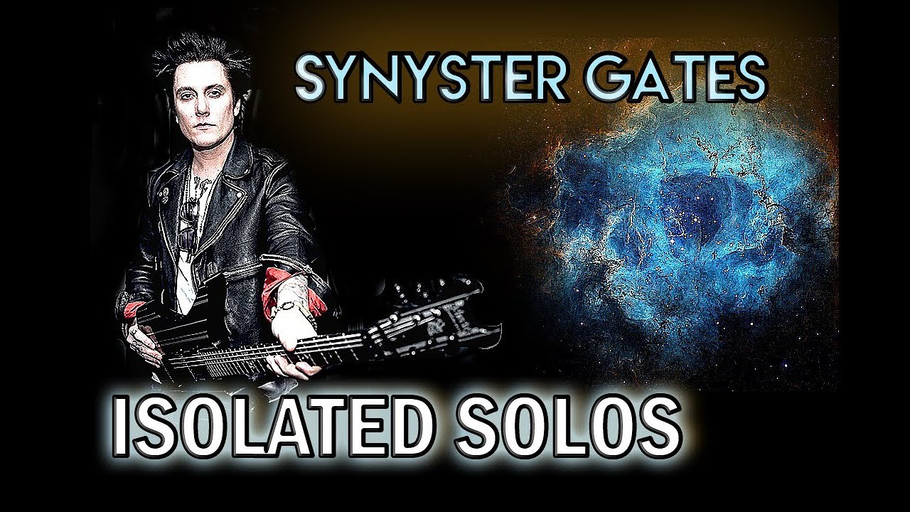 Synyster Gates - All Multitrack Guitar Solos (2018)