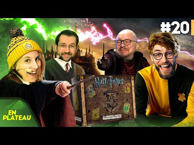 Découverte du nouveau jeu Harry Potter, Hogwarts Battle | En Plateau #20