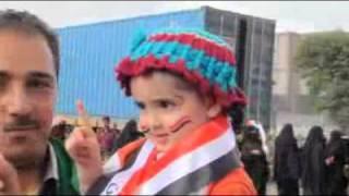 زهرة من زهرات الثورة الشعبية السلمية اليمنية المباركة