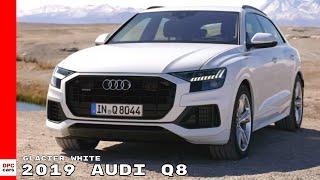 2019 Audi Q8 - Glacier White