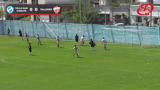FATV 19/20 Fecha 9 - Torneo Apertura - Villa San Carlos 0 - Talleres 1