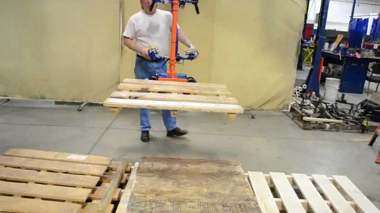 Lifting Boxes For Lift Assists : Pallet lift assist youtube