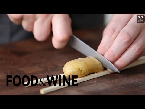How to Make Hassleback Potatoes | Mad Genius Tips | Food & Wine