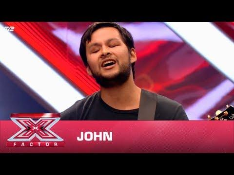 John synger 'Never Dreamed You'd Leave in Summer' – Stevie Wonder  (Audition) | X Factor 2020 | TV 2