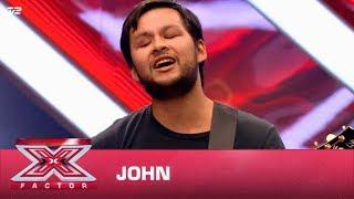 John synger 'Never Dreamed You'd Leave in Summer' – Stevie Wonder  (Audition)   X Factor 2020   TV 2