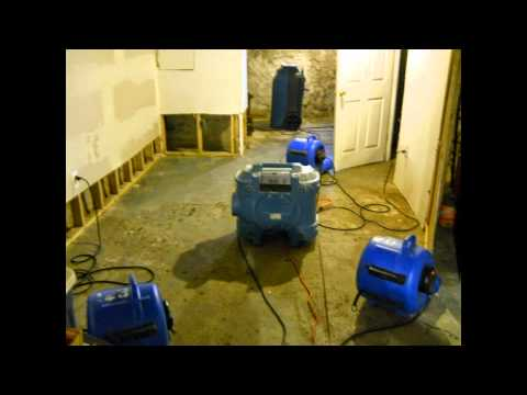 basement cleanup chalfont pa wet basement repairs hot water heater