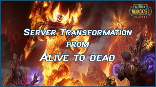Server Transformation From Alive to Dead [ WoW Classic ]