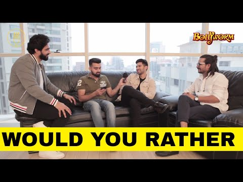 Would You Rather Funny Game WithArmaan Malik & Amaal Mallik |Ghar Se Nikalte Hi