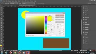 Как нарисовать домик в photoshop