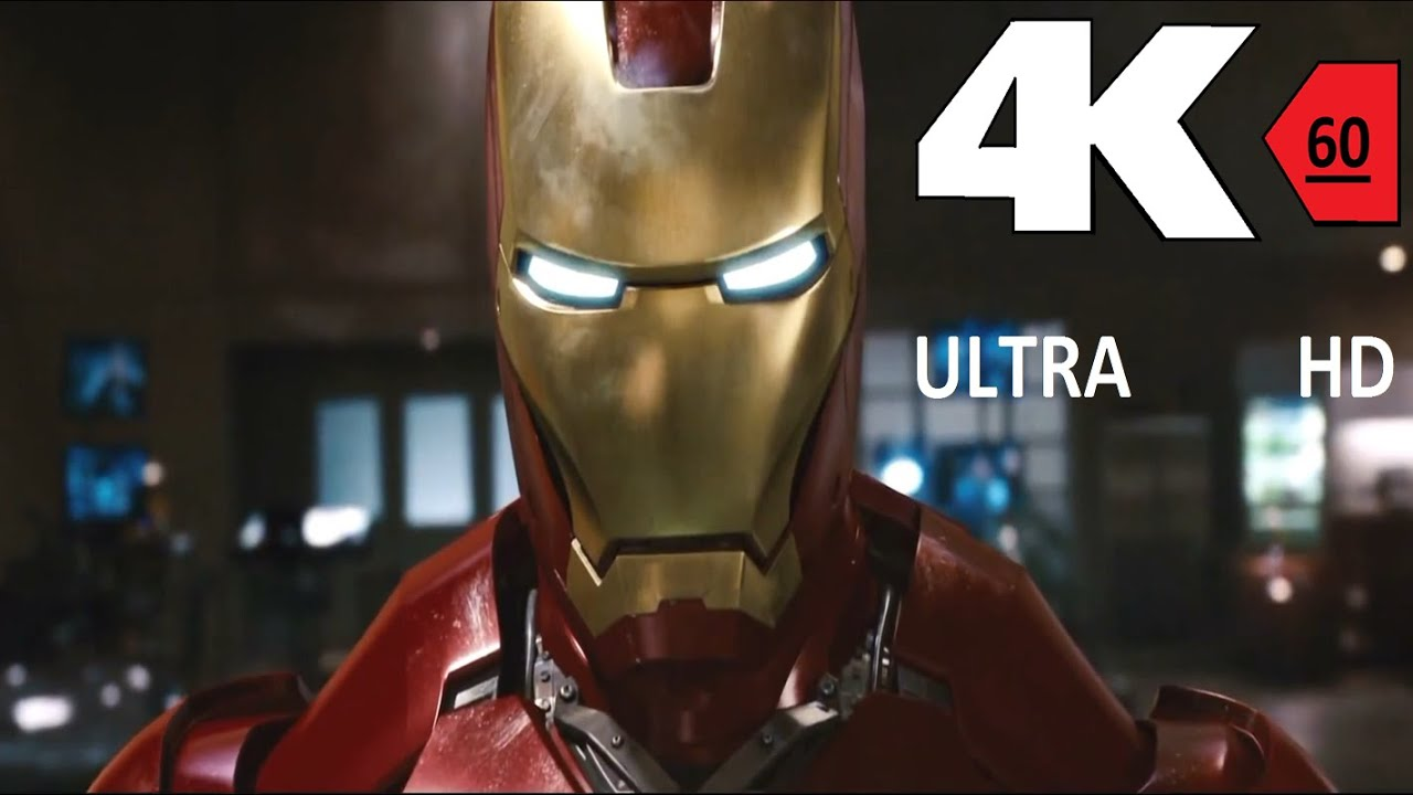 4k 60fps Iron Man 1 Suit Up 4k 60fps Hfr Uhd Ultra Hd Youtube