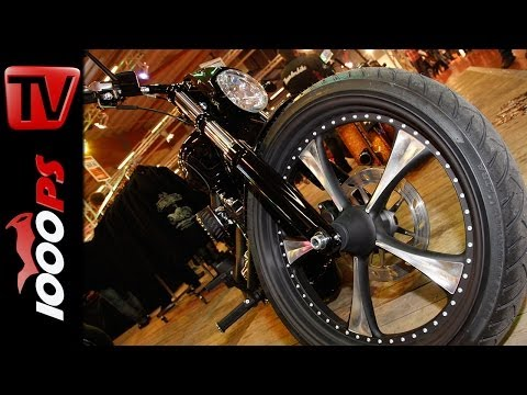 Metzeler ME888 Marathon Ultra - Triple 8 - Interview - Custombike Show - Bad Salzuflenz