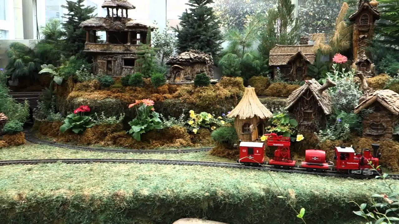 Garden Railroad At The Franklin Park Conservatory, Columbus, OH   YouTube