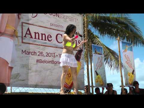 Comedian Angel at Boracay sings duet Travel Video