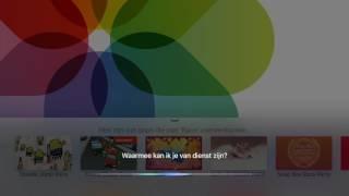 Siri op Apple TV in Nederlands: Apps