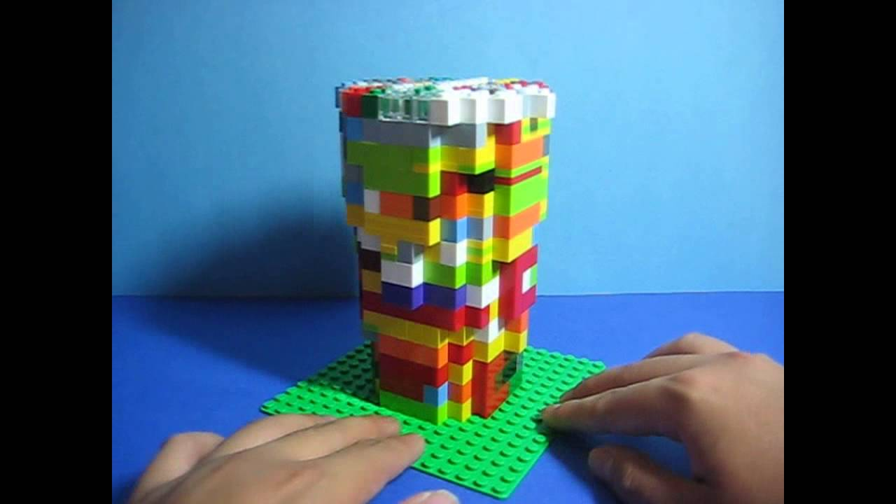 how to fill lego pick a brick cups with basic bricks youtube. Black Bedroom Furniture Sets. Home Design Ideas