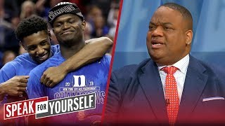 Jason Whitlock: It's hypocritical to hop on Duke bandwagon only for Zion | CBB | SPEAK FOR YOURSELF thumbnail