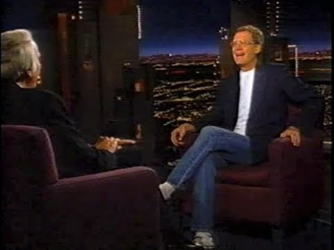 David Letterman on Late Late Show with Tom Snyder, November 8, 1995