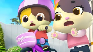 I Can Ride a Bike | Vegetables Song, Police Cartoon | for kids | Nursery Rhymes |Kids Songs |BabyBus