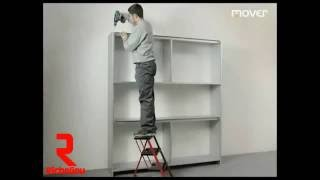 Richelieu Hardware - Sliding System With Vertical Gliding For Wall And Small Cabinets: Assembly