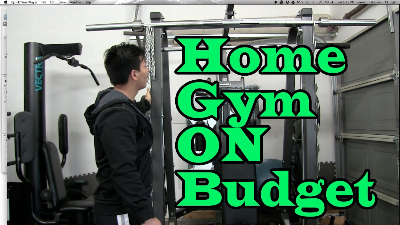 Build best home gym on any budget 1 of 2 youtube for Build a house on a budget