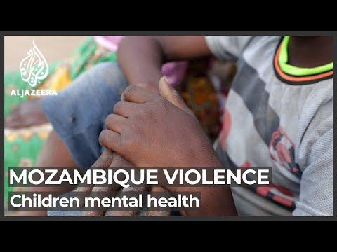 Mental health crisis plaques Mozambique displaced children