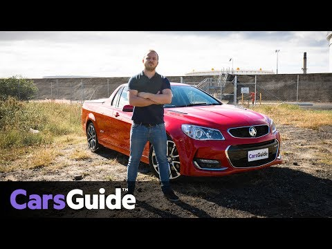 Holden SS Ute 2017 Review: Road Test Video