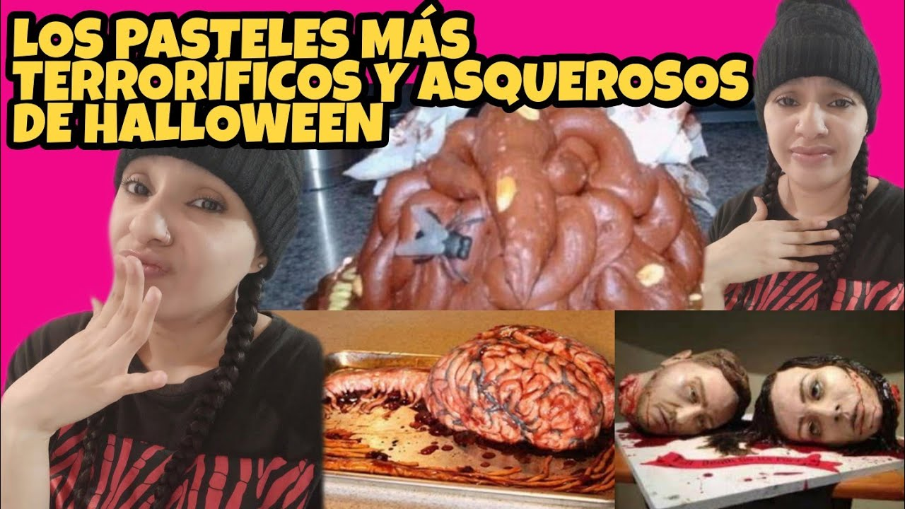 🎂 PASTELES TERRORÍFICOS Y ASQUEROSOS | SCARY AND DISGUSTING CAKES 👻💩