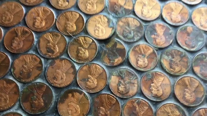 What A Penny Floor Looks Like 6 Years Later Youtube
