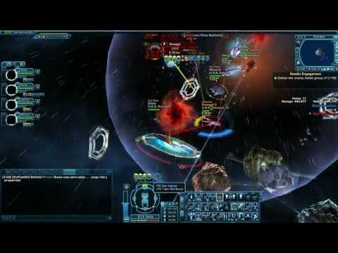 Star Trek Online - PVP Space - 3rd Fleet SD vs Lafamilia