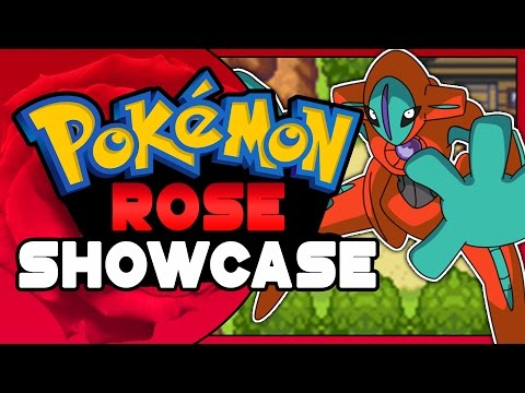 Pokemon Rose - Pokemon GBA ROM HACK showcase