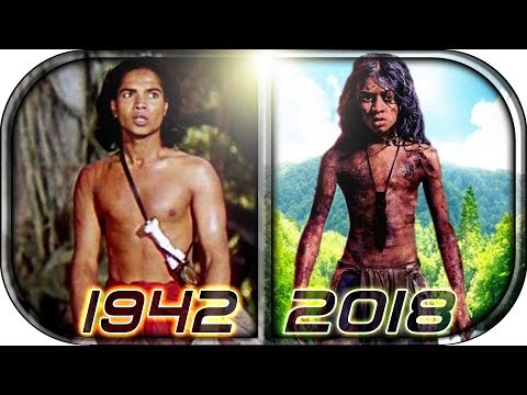 EVOLUTION Of MOWGLI In Movies Cartoons TV (1937-2019) Mowgli: Legend Of The Jungle Movie Scene 2018
