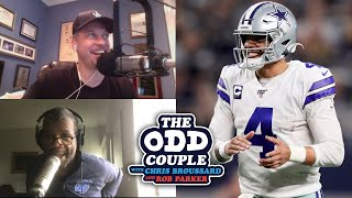 Rob Parker Rips Dallas Cowboys and Calls Dak Prescott, 'Stat Prescott'