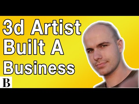 How A 3d Artist Quit His Job And Built A Business