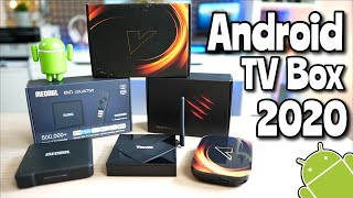 Android TV Box 2020: Mecool KM1, Tanix TX6S y Vontar X3